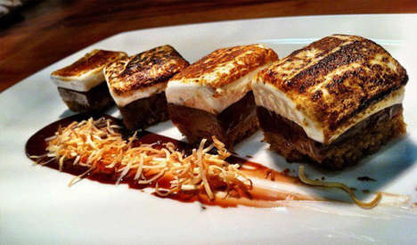 Lavish Campfire Desserts - The Haven Gastropub S'mores are a Foodie Must-See