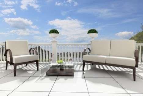 Temp-Regulating Patio Panels