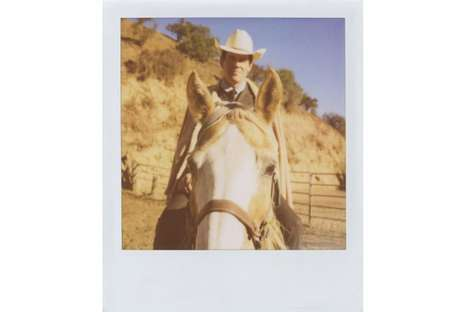 Rugged Celebrity Polaroids - Josh Brolin is Featured in the Band of Outsiders Fall Lookbook