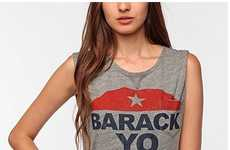 Presidential Wordplay Shirts - The DOE Barack Yo Body Tee is a Politically Humorous