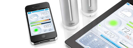 Weather Station Smartphone Apps - Netatmo Will Forecast the Climate in Real-Time