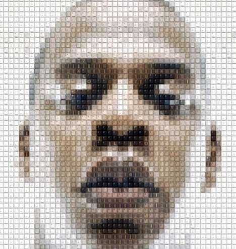 Celeb Mosaic Artwork