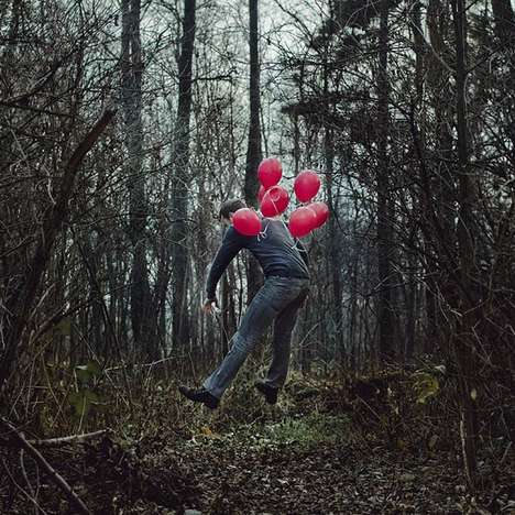 Surreal Decapitated Portraits - Photographer Czlowiek Kamera is a Master of Juxaposition