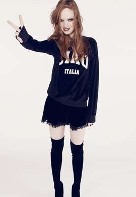 Edgy Collegiate Lookbooks - Get Schooled by the Wildfox White Label 'Being Good, Being Bad' De