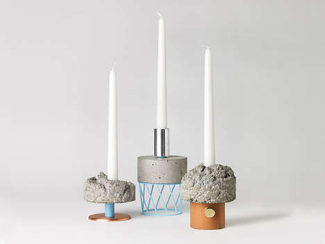 Congregating Candle Artworks