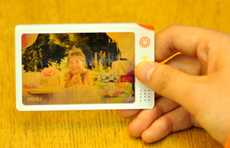 Paper Transfer Photography - The Ultra-Thin Rub View Camera is More Impressive than a Polaroid