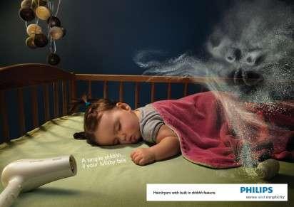 Shushing Blowdryer Ads