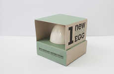 Brooding Self Branding - The 1 New Fresh Egg Concept Celebrates a Young Professional's Potential