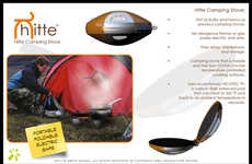 Outdoorsy Cooking Disks - The Hitte Camping Stove is Safe, Reliable, Convenient and Compact
