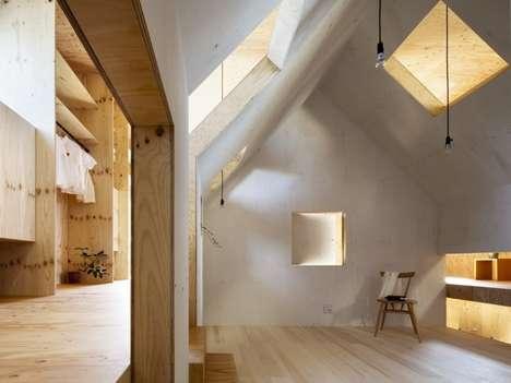 Angular Plywood Abodes