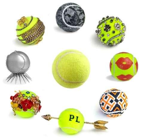 13 Repurposed Tennis Ball Pieces