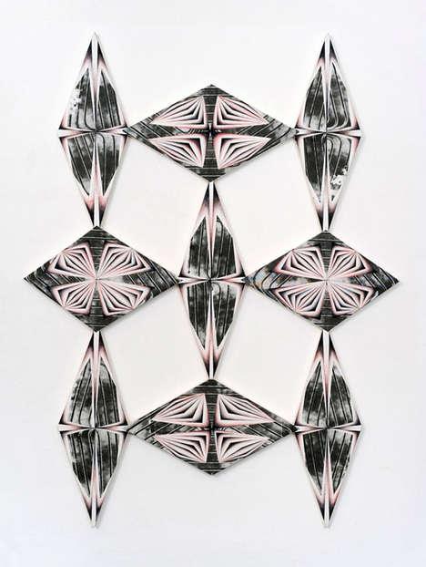 Geometric Kaleidoscope Art