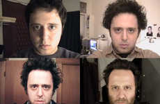 Personal Daily Time-Lapse Films - The Noah Kalina Self Portait Video is a Trip Through Time
