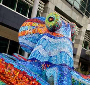 Sea Creature Mosaics