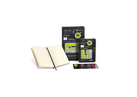 Retro Recording Device Notebooks