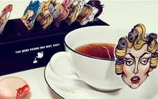 Iconic Pop Queen Infusions - Gaga Tea Packaging is Inspired by the Eccentric Celeb Loose Leaf Lover