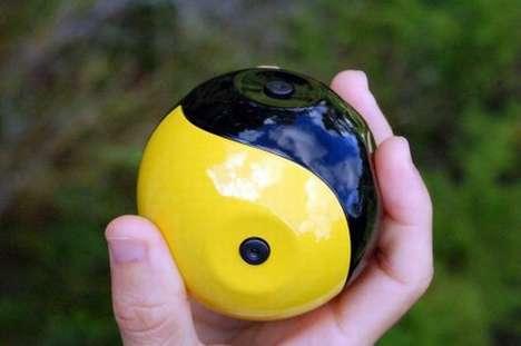Yin-Yang Camera Balls