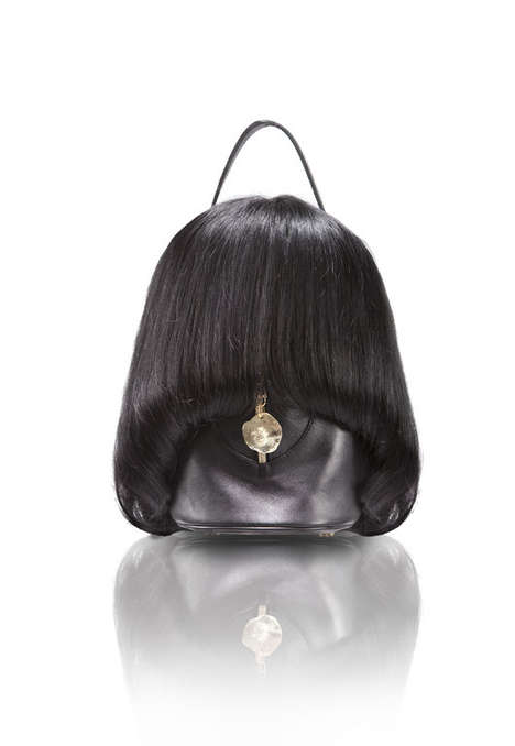 Human Hair Handbags - Taeseok Kang Creates Disturbingly Chic Couture