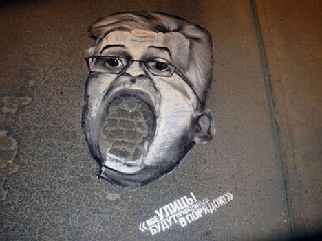 Political Graffiti Protests