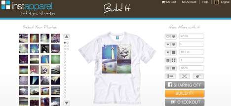Social Media T-Shirts - Instapparel Puts Your Photos on Clothes