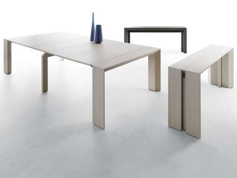 Minimalist Transforming Furniture