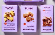 Bite-Ready Branding - Tusso Packaging Presents its Products Like They're Set to be Eaten Immediately