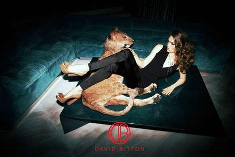 Lion-Taming Fashion Ads