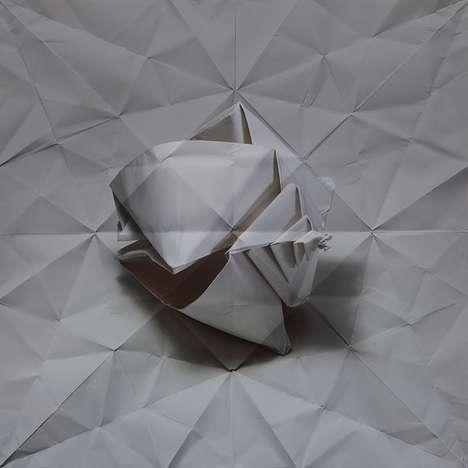 Crumpled Papercraft Captures