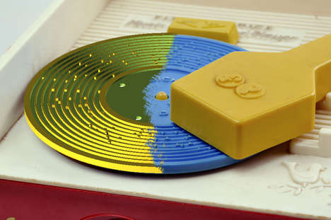 3D-Printed Plastic Discs