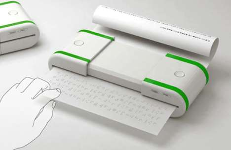 Tactile Page Printers