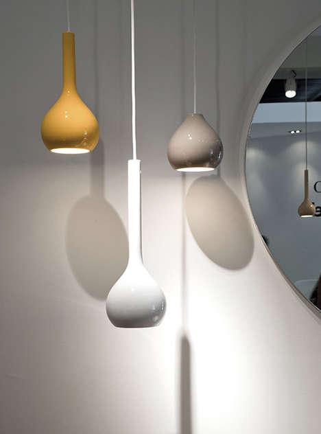 Cheerful Teardrop Lamps