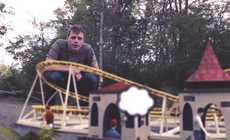 Destructive Digital Theme Parks - Sims Meets Roller Coaster Tycoon in this Augmented Reality Video