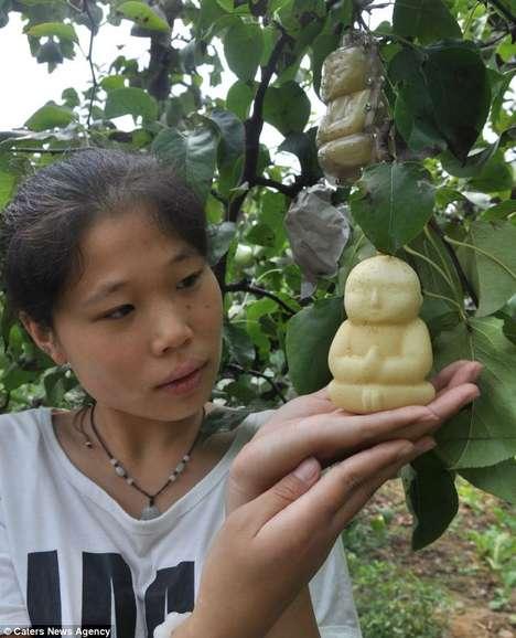 Spiritual Leader-Shaped Fruits