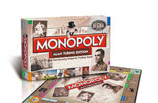 A.I-Inspired Board Games - The Alan Turing Monopoly Game Celebrates the Turing Test