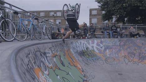 Wheelchair BXM Stunt Videos