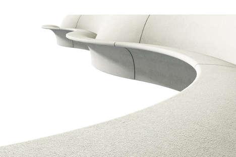 Shoreline-Inspired Benches