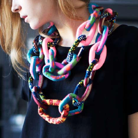 Shackle-Inspired Scarves