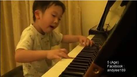 This Child Piano Prodigy Has an Infectious Smile and Amazing Talent