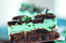 Breath-Freshening Mint Brownies - This 'Averie Cook' Triple Layer Fudge Creation is Sinfully Good