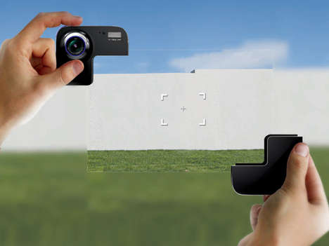 Manual Scene-Cropping Photography