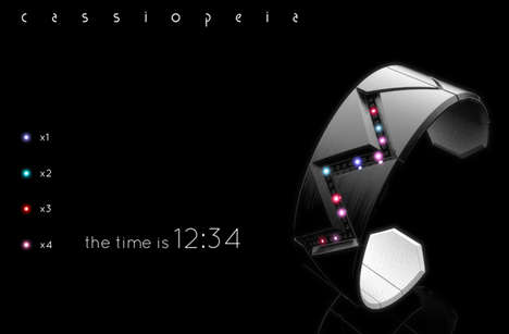 Color-Coded LED Chronographs