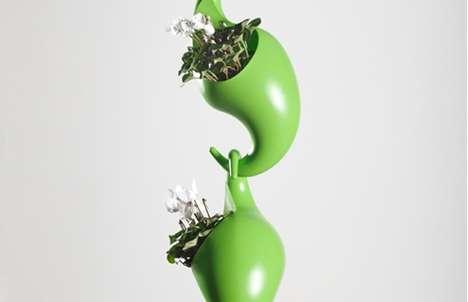 Adaptable Beanstalk Planters