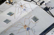 Monstrous Spider Murals