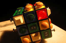 Visually Impaired Rubik Games - The Doom Cube Boasts Textured Surfaces For Blind People