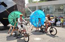 Bicycle-Powered Music Machines - Cyclo-phone by Marcelo Ertorteguy and Sara Valente Has Rhythm