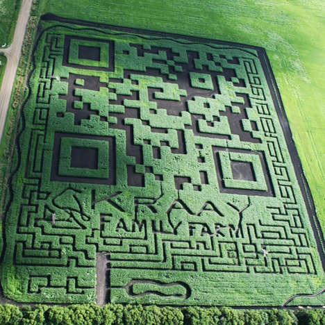 Scannable Corn Fields