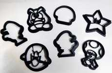 Arcade-Inspired Pastry Molds - The 3D Mario-Themed Cookie Cutters are Great for Gamers