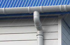 Superb Stormy Roof Drain Pipes