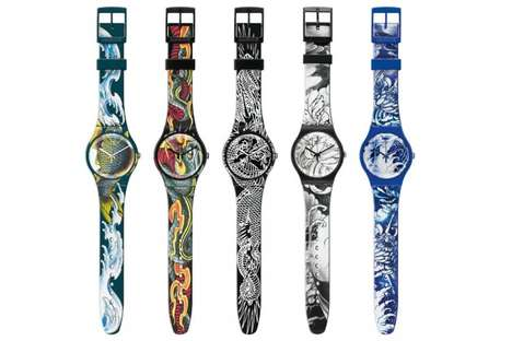 Body Ink-Inspired Timepieces