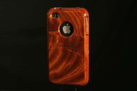 Handmade Hardwood Phone Protectors